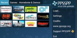 Psp on android
